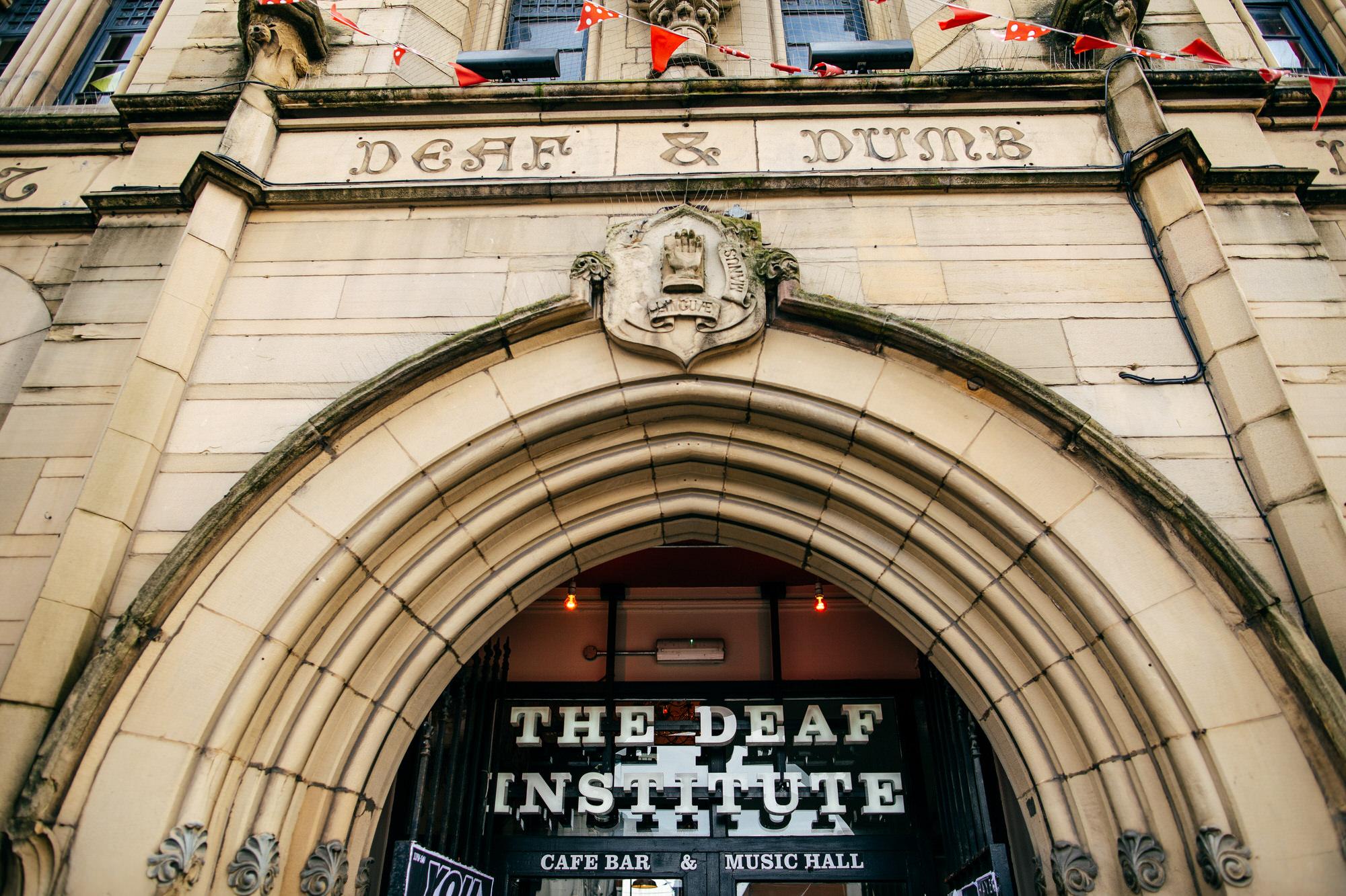Deaf Institue Wedding