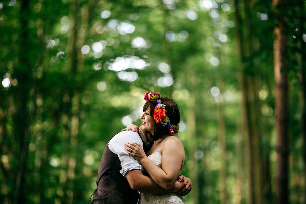 Rangefinder Rising Star 2017 Woodland Wedding The Keeper and the Dell Norfolk