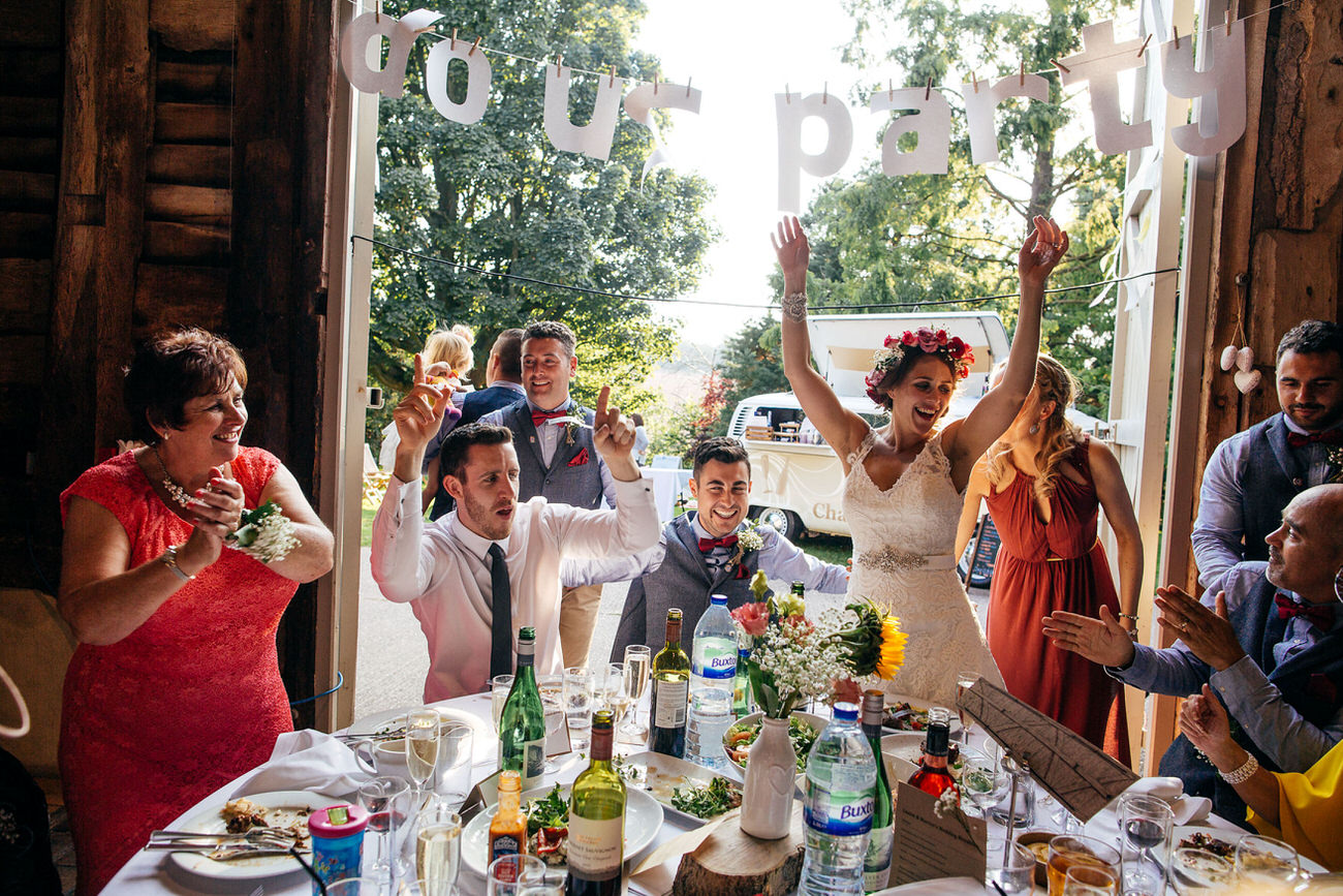 Pimhill Barn Wedding Photographer Creative Wedding Award Winner