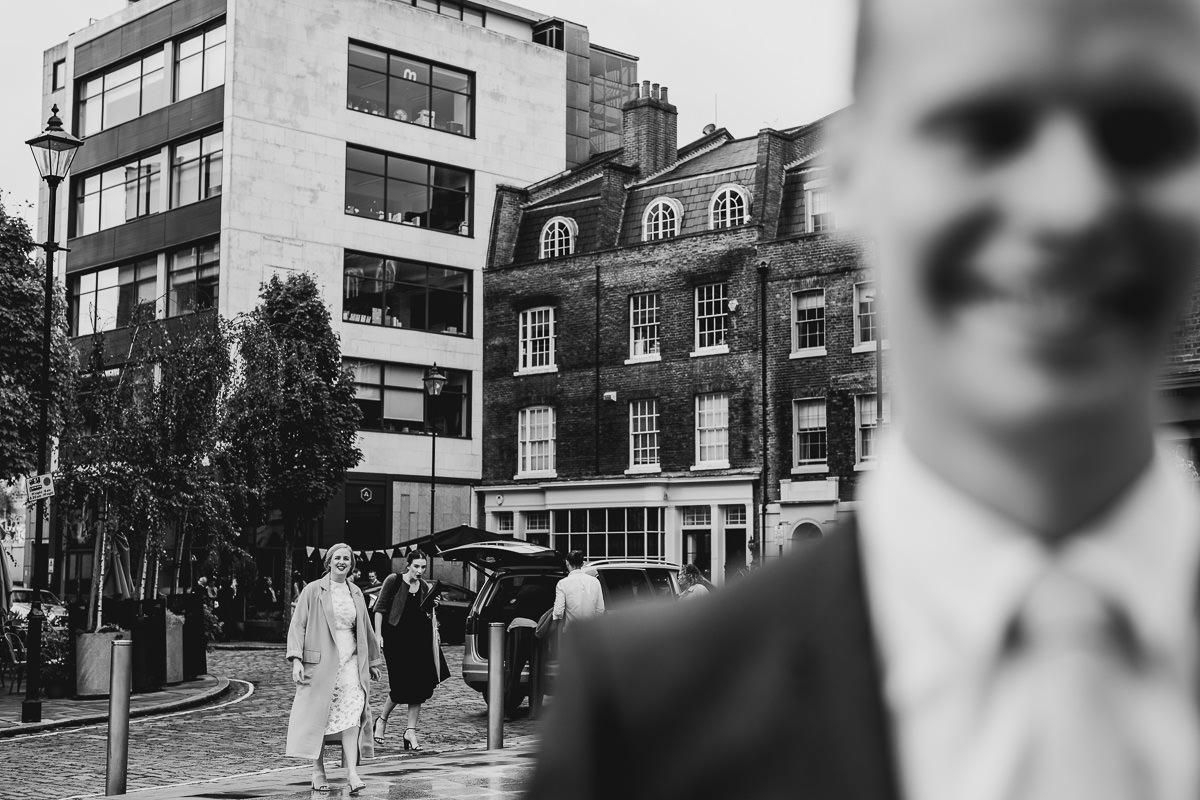 London Wedding Photographer First Look