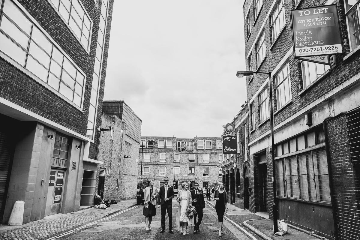 Bridal Party in London