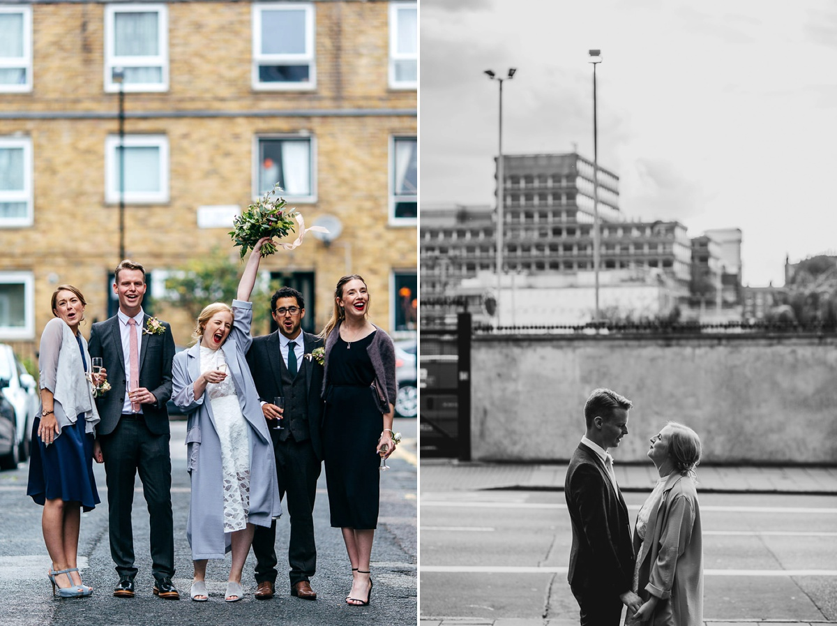 Stylish London Wedding Creative Wedding Photographer