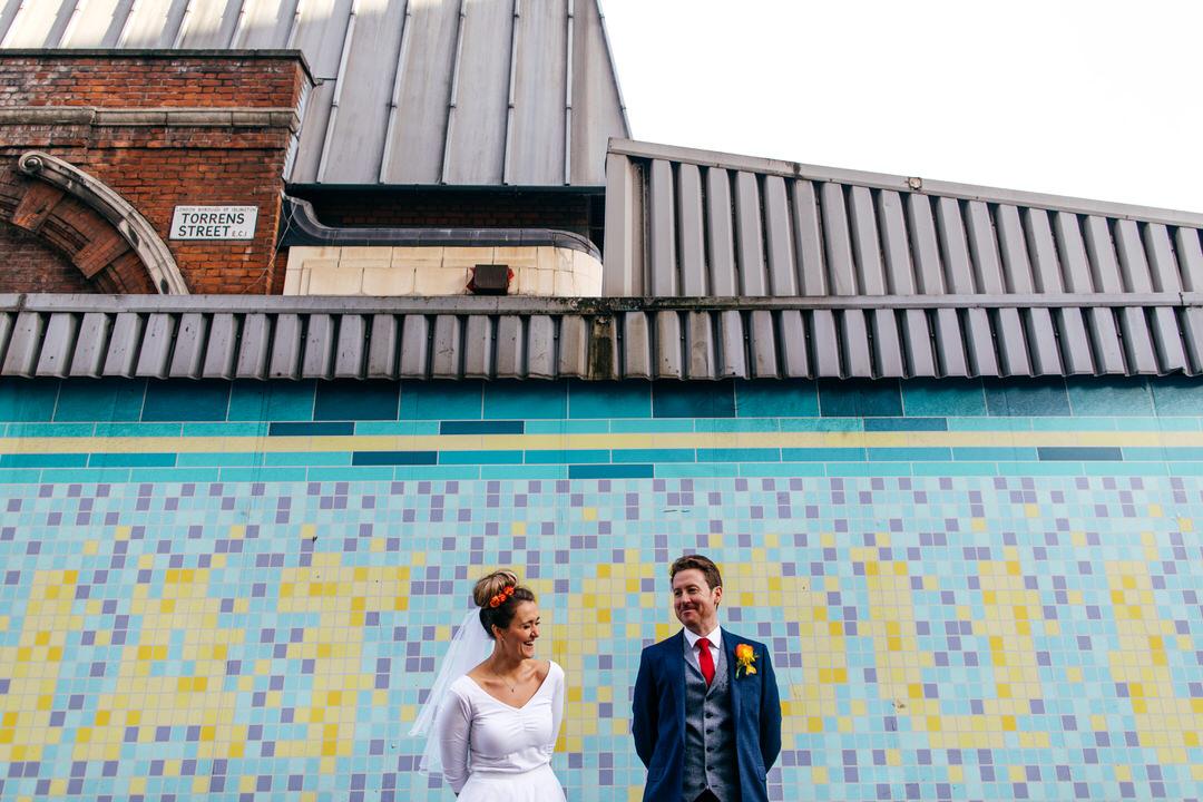 Islington Metalworks London Wedding Photo Cool Wedding Venues