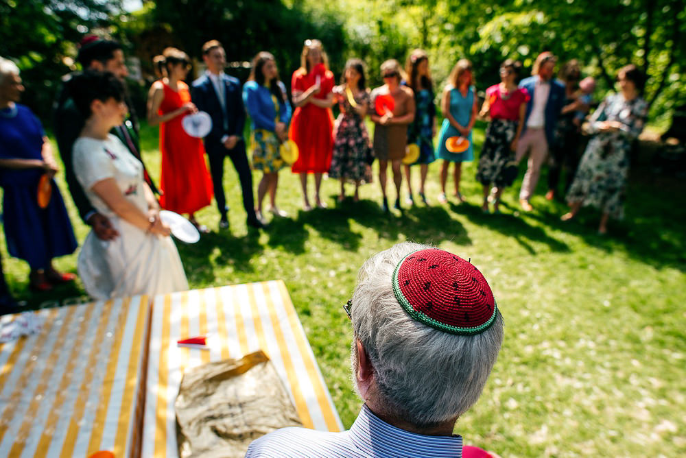 watermelon-sequinned-kippot-woodberry-wetlands-wedding