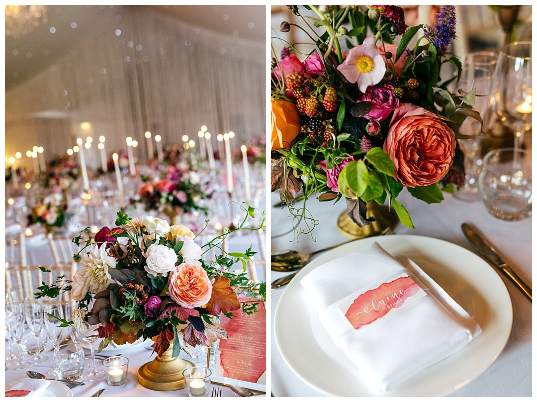 calligraphy-place-names-with-peony-centrepiece-combermere-abbey-one-stylish-day