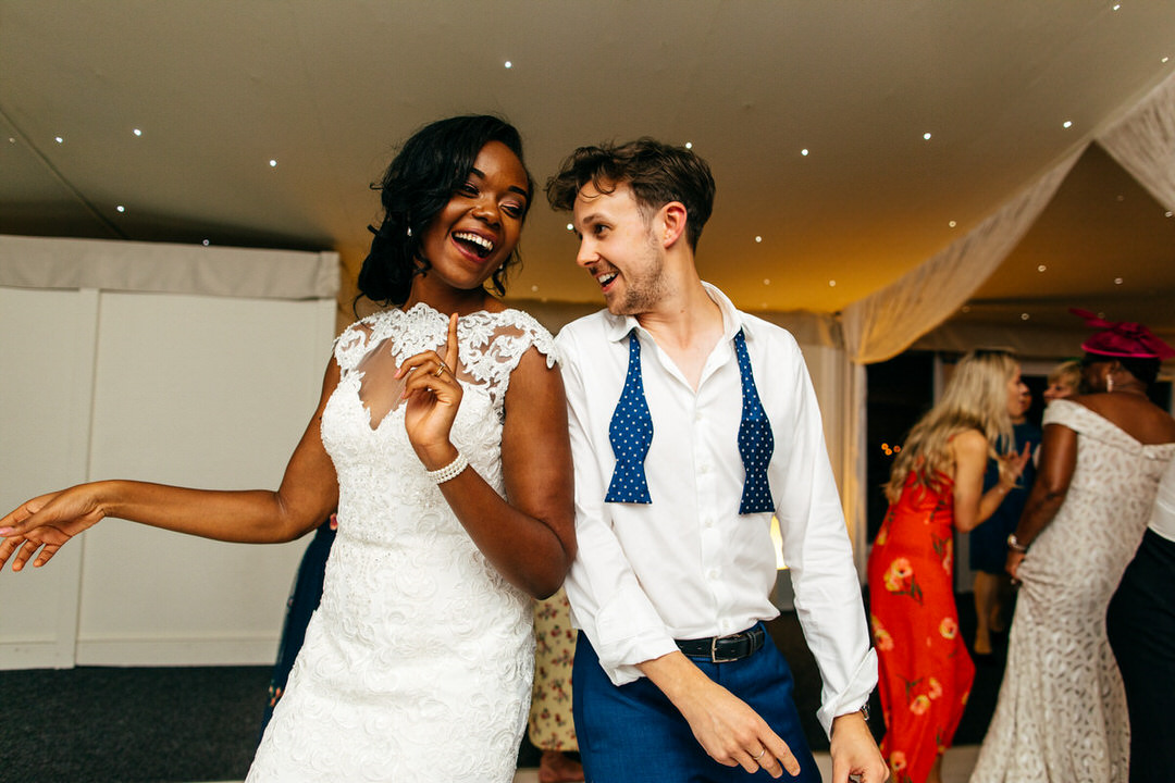 bride-and-groom-dance-together-combermere-abbey
