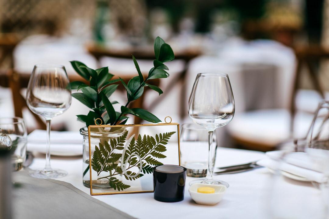 table-numbers-fern-leaf-encapsulated-glass-frame-london-wedding