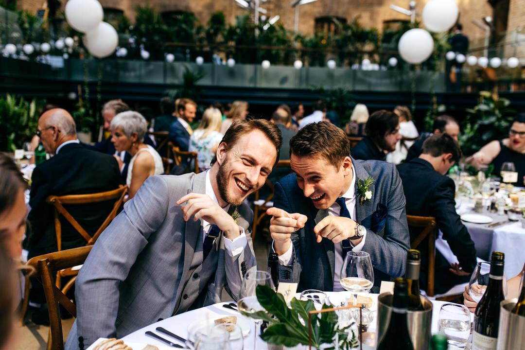 guests-fool-around-wedding-breakfast-london-wedding