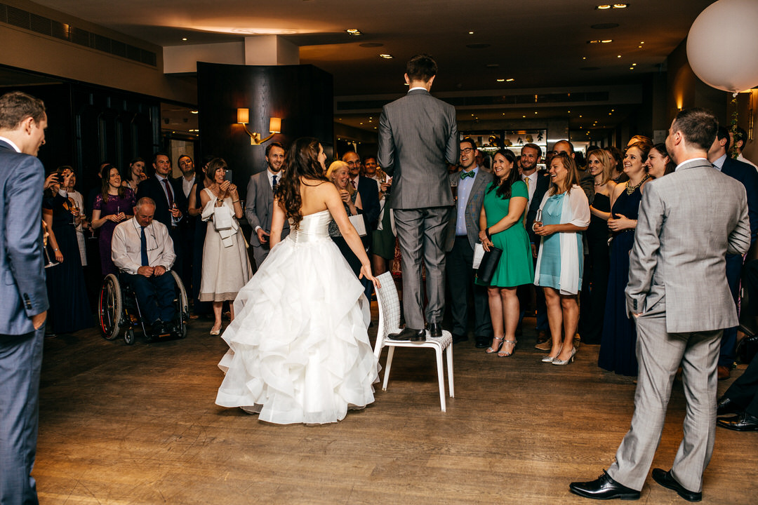 A Greenery filled Devonshire Terrace Wedding for Jamie and James